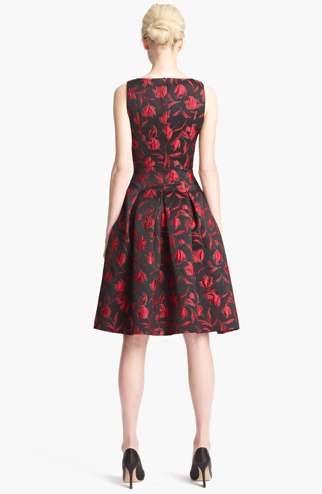 ,                             Floral Embroidered Dress,                             Alternate thumbnail 2, color,                             641