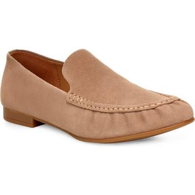UGG Vivian Moc Loafer Flat- Beige