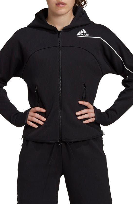 Adidas Originals Adidas Women's Athletics Z.n.e. Hoodie In Black