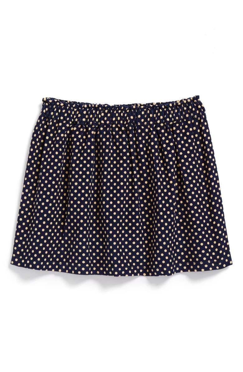 PEEK AREN'T YOU CURIOUS Peek 'Sylvie' Polka Dot Skirt, Main, color, 410