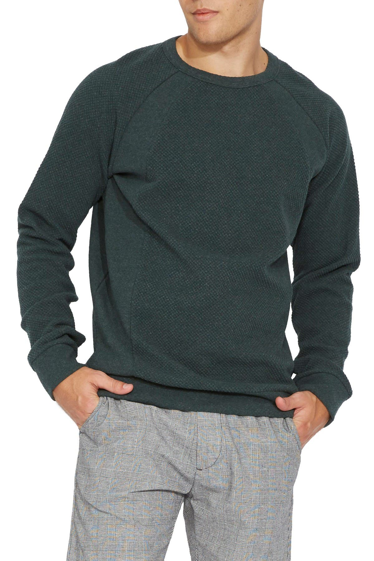 Image of Civil Society Maxson Waffle Knit Pullover
