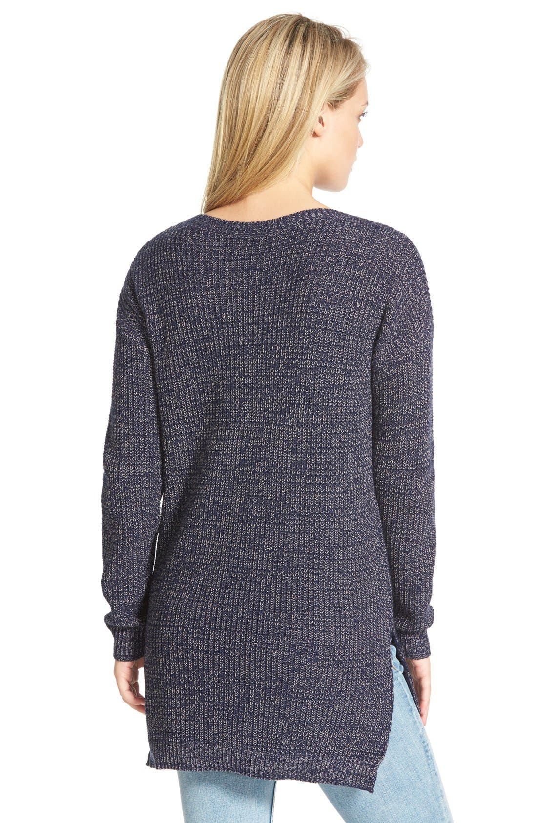 ,                             Textured Knit Pullover,                             Alternate thumbnail 25, color,                             410