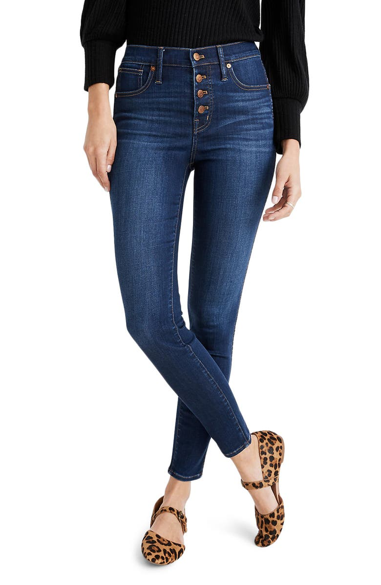 MADEWELL Skinny Jeans, Main, color, JULIE WASH