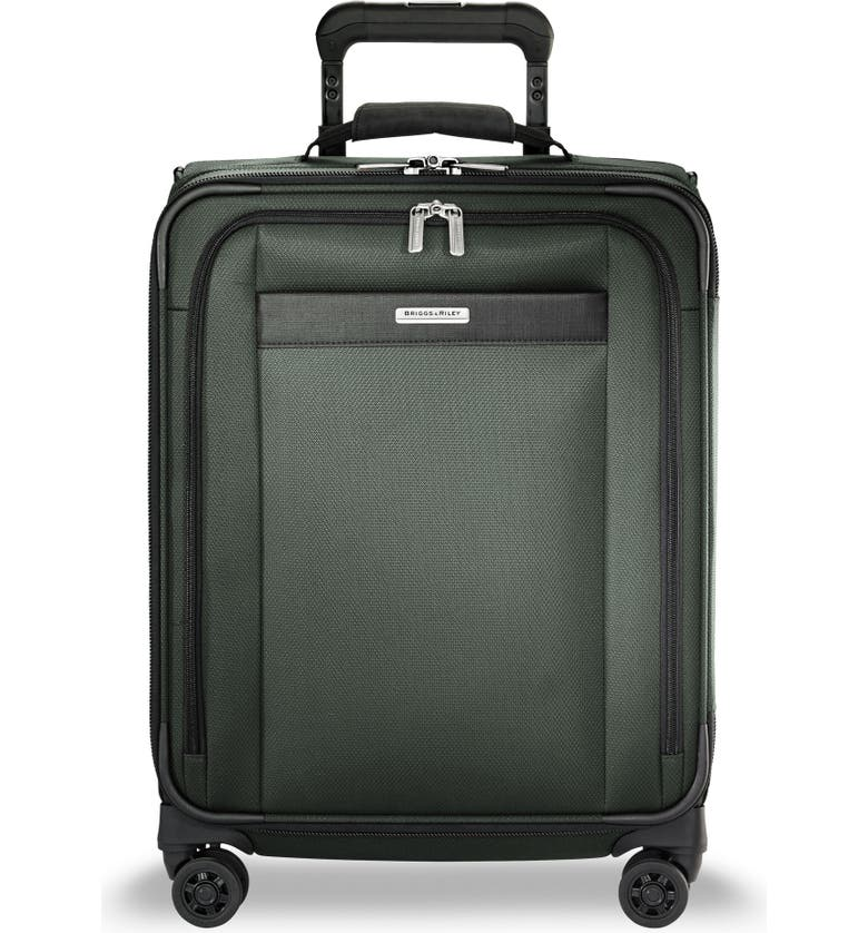 BRIGGS & RILEY Transcend VX Wide Expandable 21-Inch Spinner Suitcase, Main, color, RAINFOREST GREEN