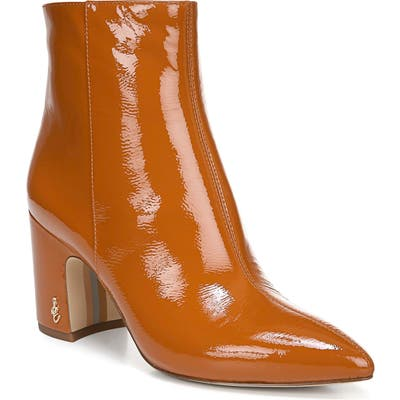 Sam Edelman Hilty Bootie- Orange