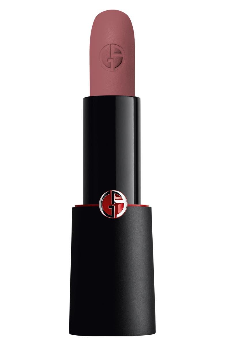 GIORGIO ARMANI Rouge d'Armani Matte Lipstick, Main, color, 501 MILANO/SMOKEY ROSE