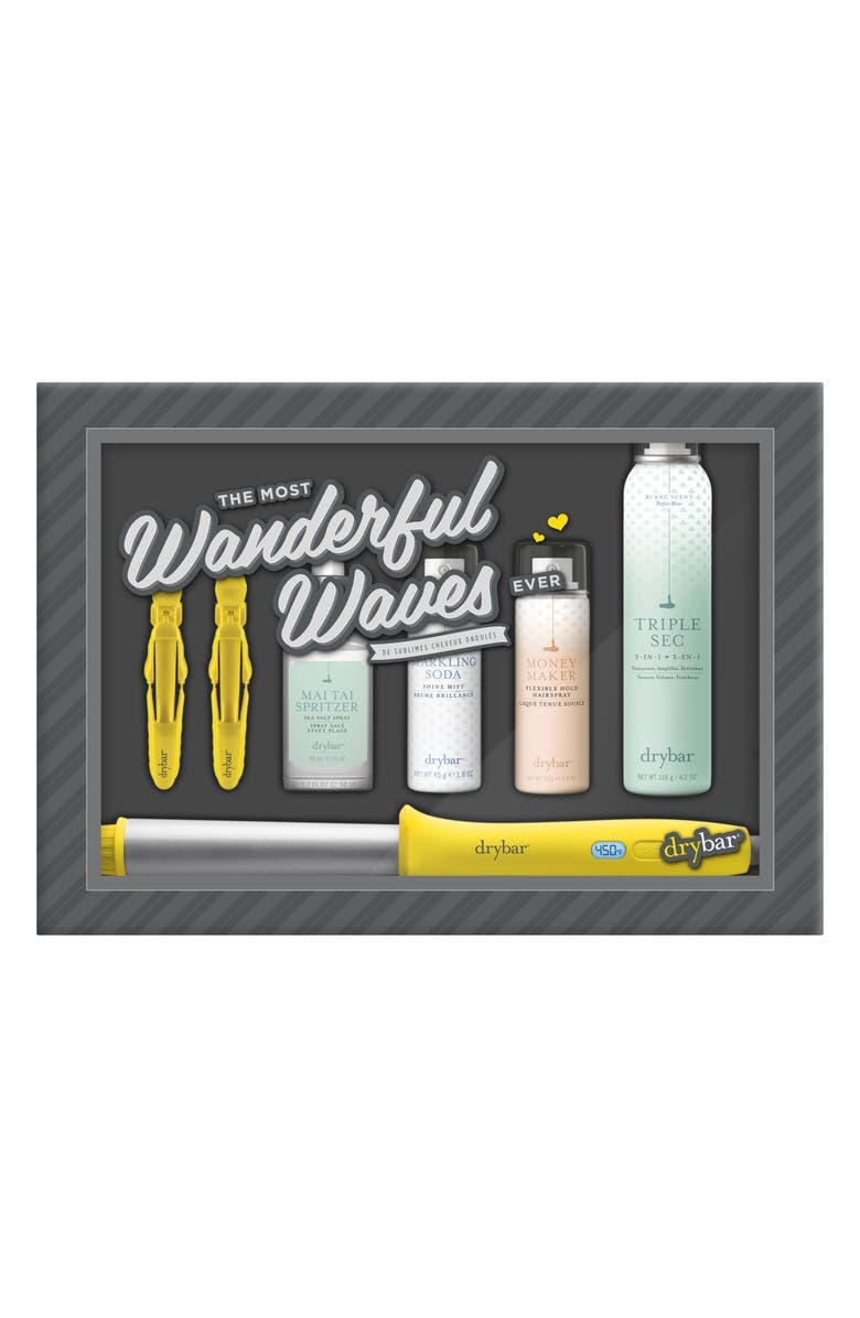 DRYBAR The Most Wanderful Waves Set, Main, color, 000