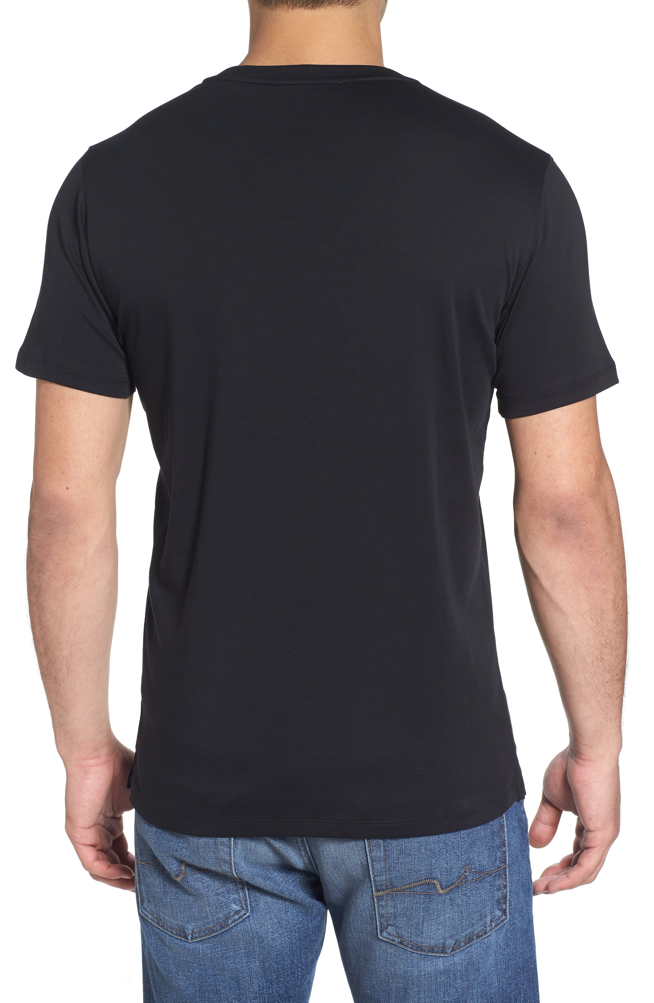 ,                             Georgia Crewneck T-Shirt,                             Alternate thumbnail 121, color,                             BLK