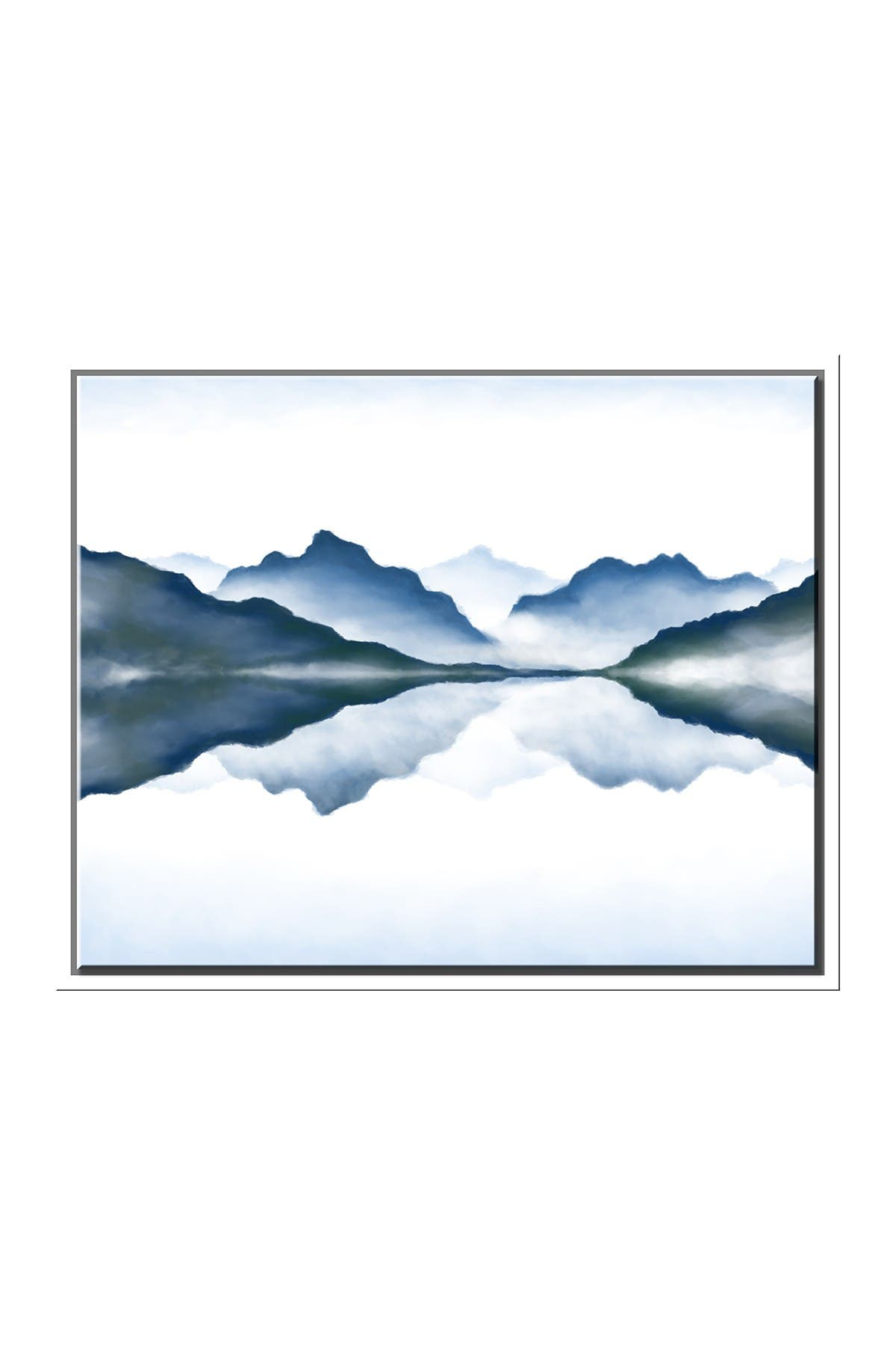 Image of PTM Images Peace Lake Canvas with Floater Frame