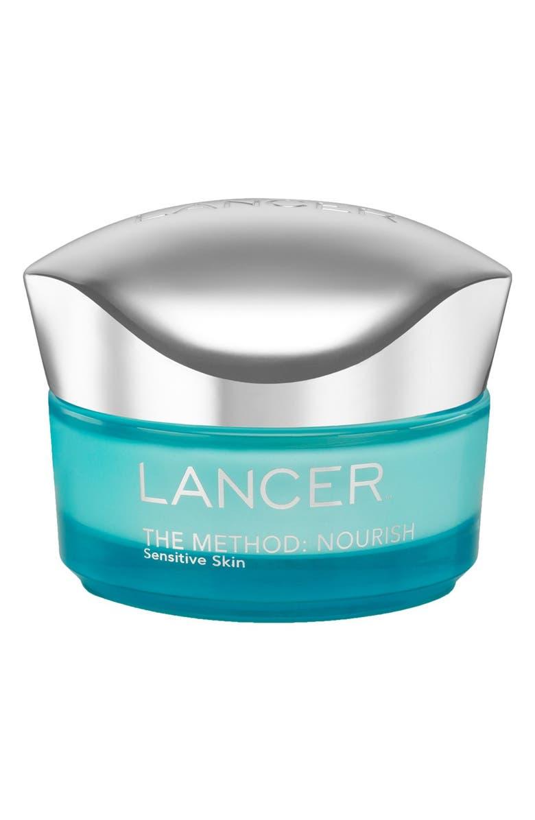 LANCER SKINCARE The Method: Nourish For Sensitive Skin Moisturizer, Main, color, NO COLOR