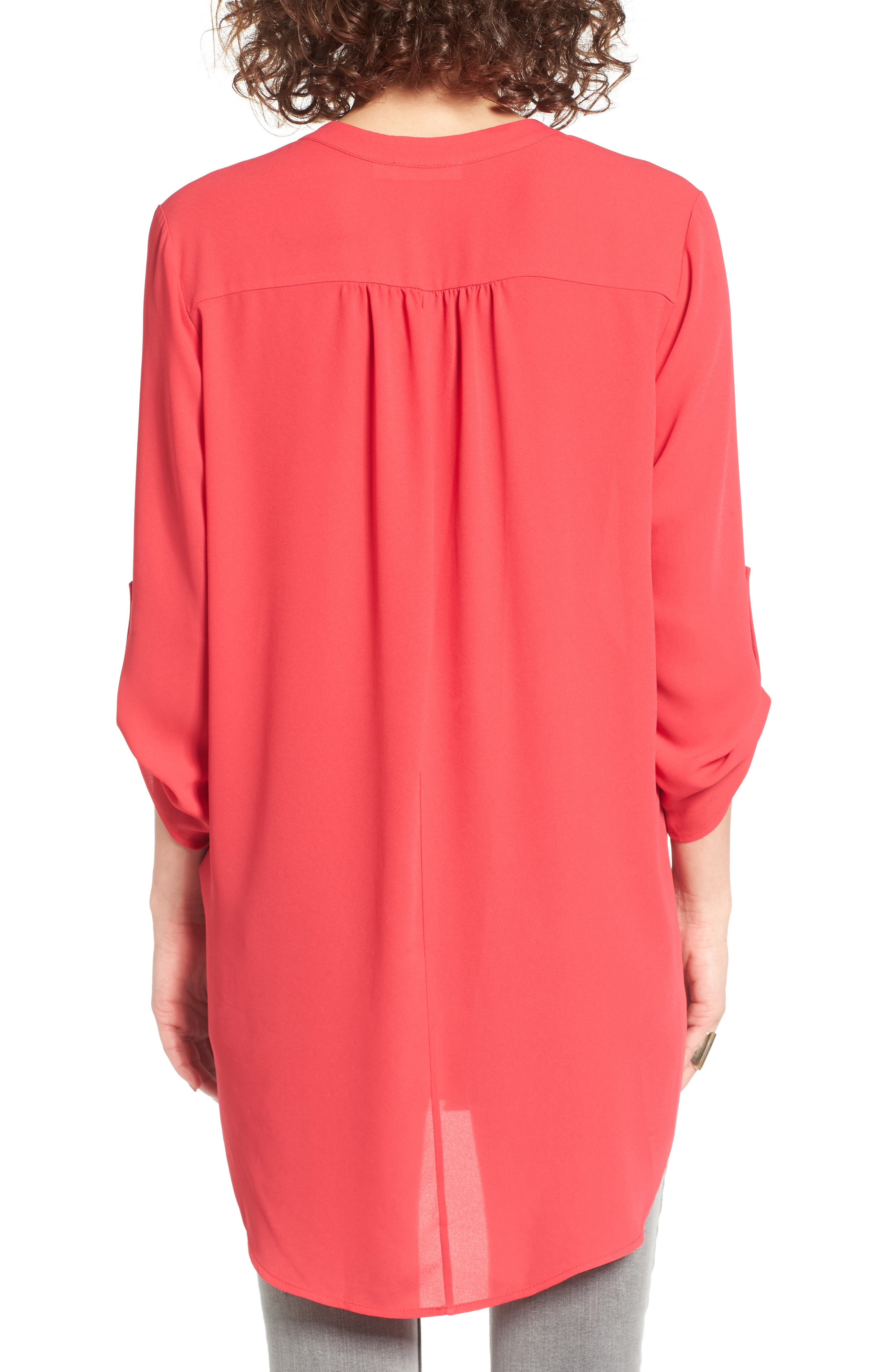 ,                             Perfect Roll Tab Sleeve Tunic,                             Alternate thumbnail 368, color,                             660