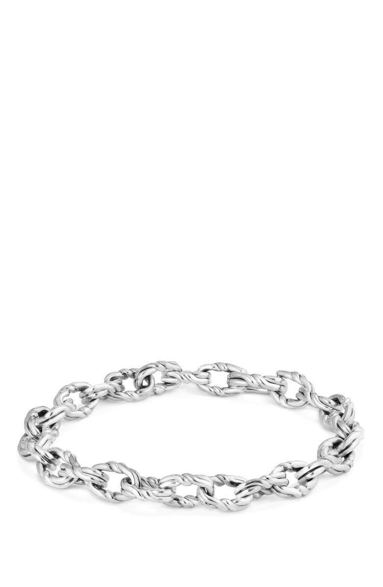 DAVID YURMAN Continuance Chain Bracelet, Main, color, SILVER