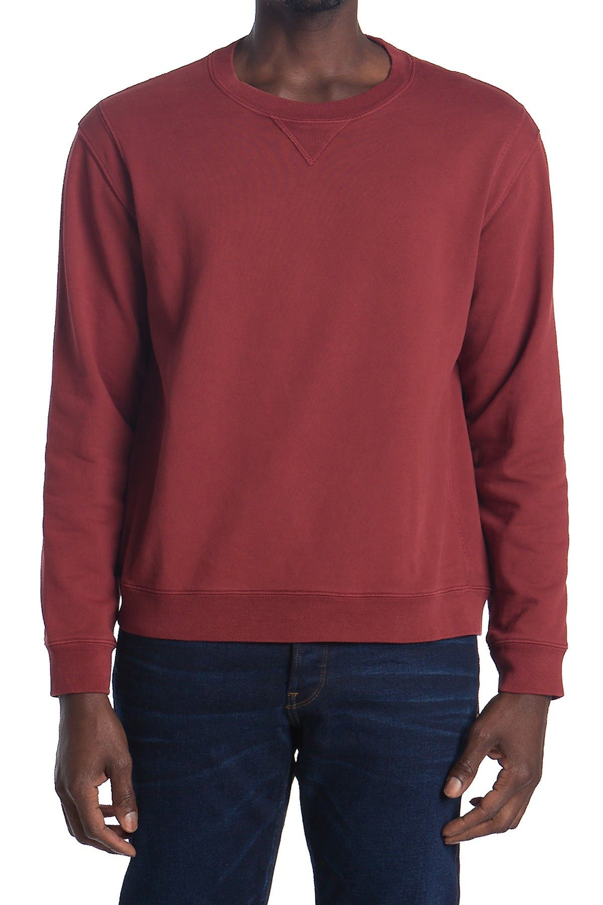 Image of 7 For All Mankind Vintage Crew Neck Pullover Sweatshirt