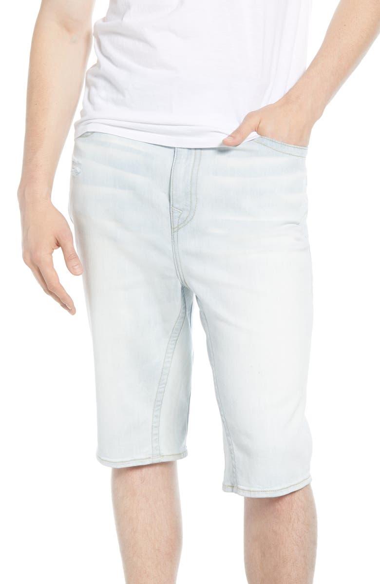 TRUE RELIGION BRAND JEANS True Religion Marco Slim Straight Leg Denim Shorts, Main, color, 400