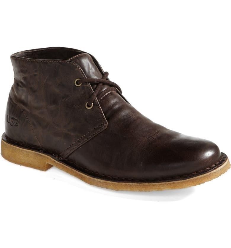 UGG<SUP>®</SUP> Leighton Chukka Boot, Main, color, 201