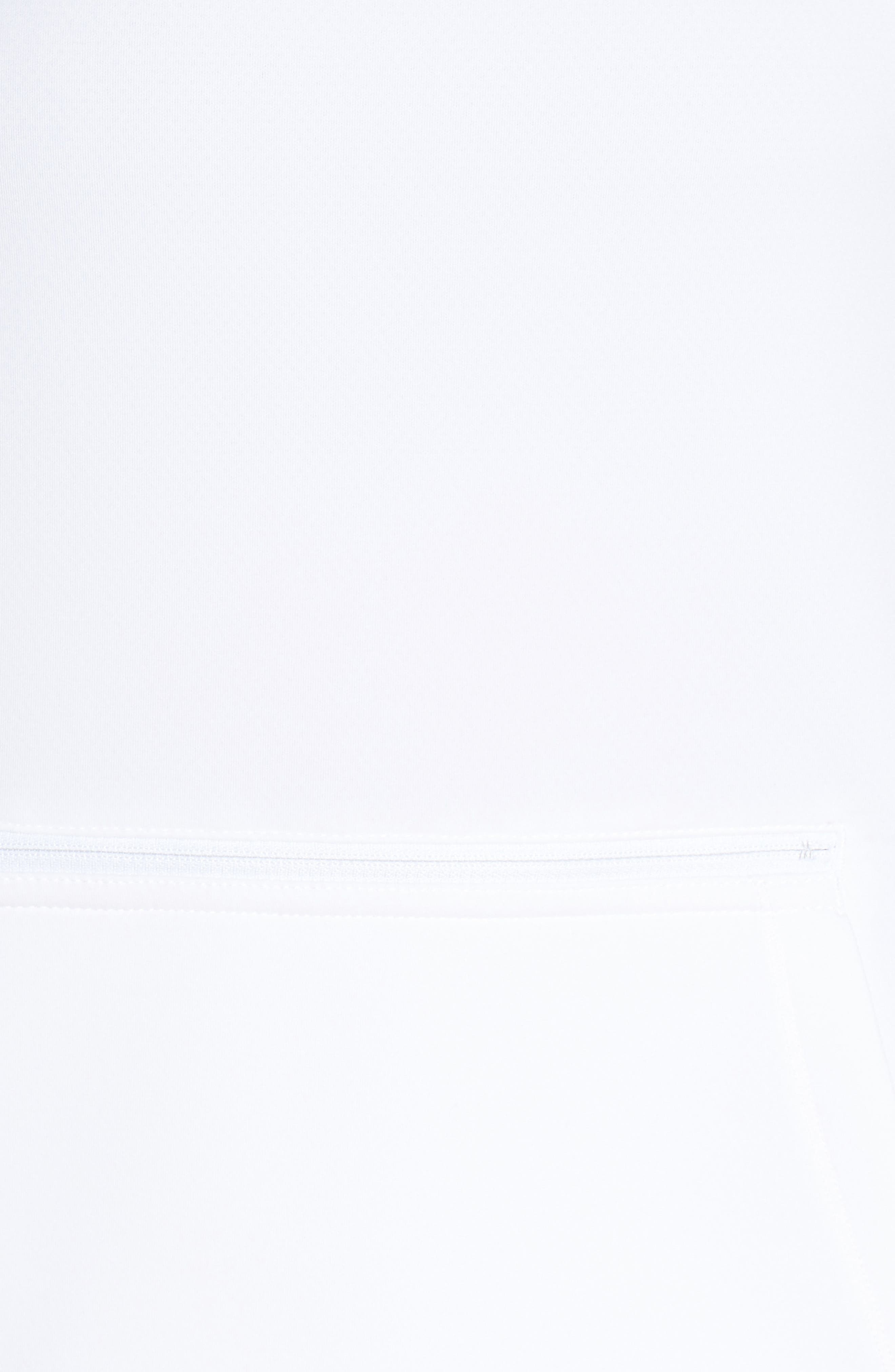 ,                             Mock Neck Zip Pullover,                             Alternate thumbnail 13, color,                             100