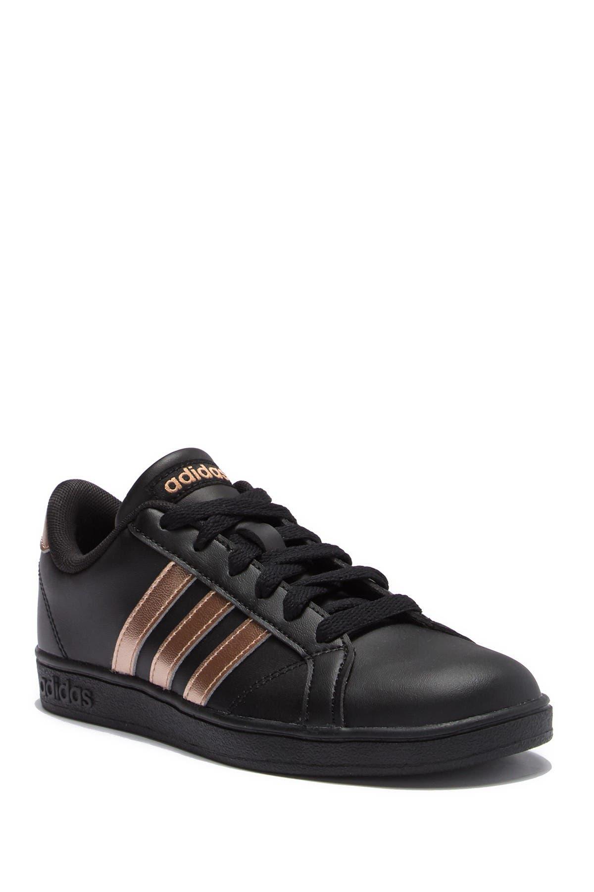 adidas   Baseline K Leather Sneaker