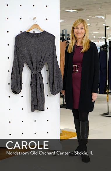 Shimmer Sweater Dress, sales video thumbnail
