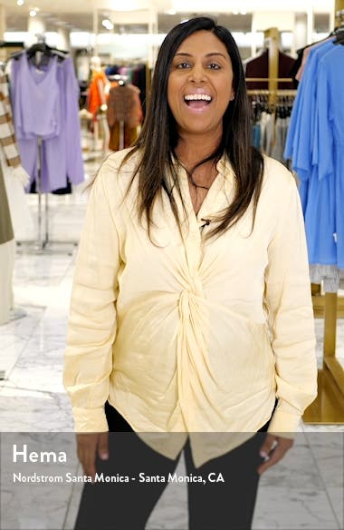 Contrast Ruffle Sleeve Shift Dress, sales video thumbnail