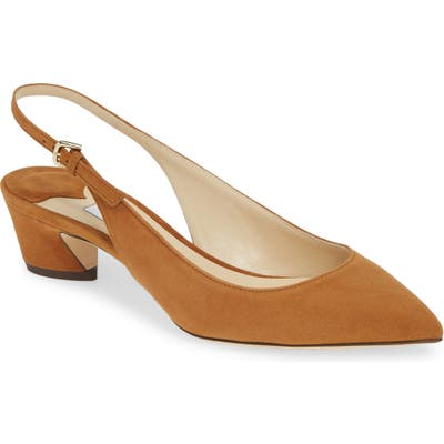 Jimmy Choo Gemma Slingback Pump, Brown