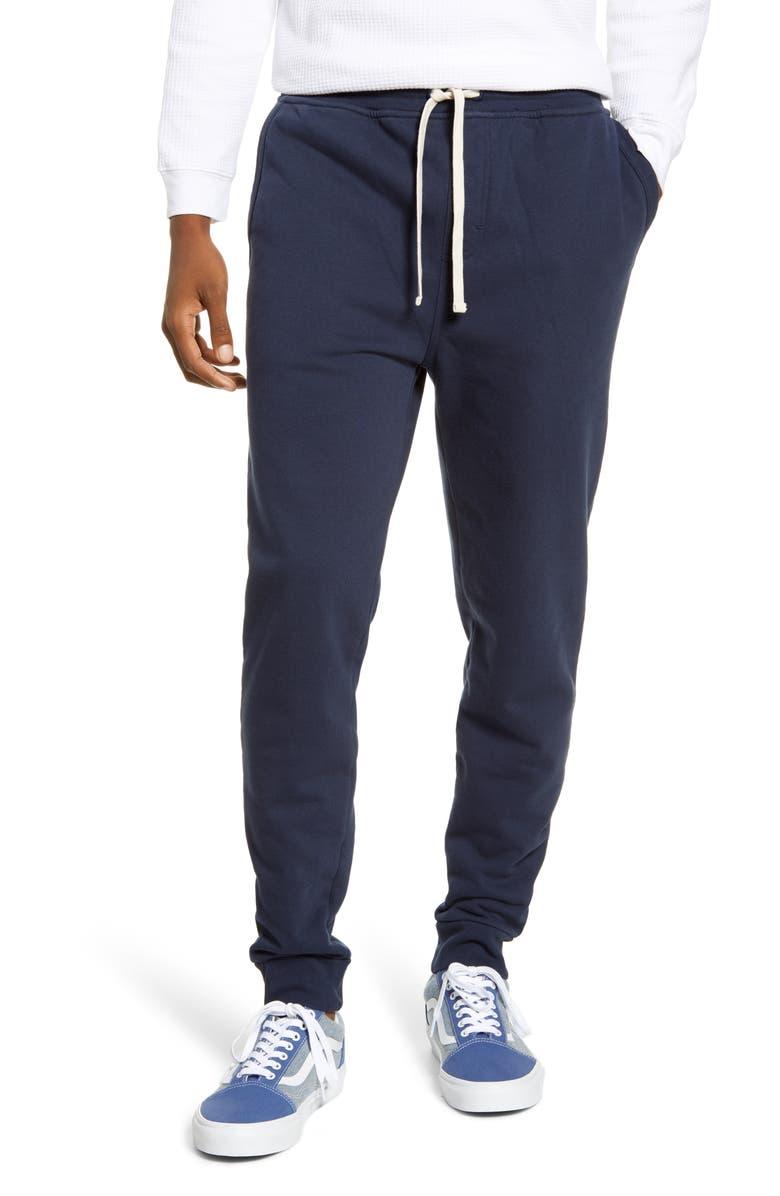 BANKS JOURNAL Primary Slim Fit Sweatpants, Main, color, DDN- DIRTY DENIM