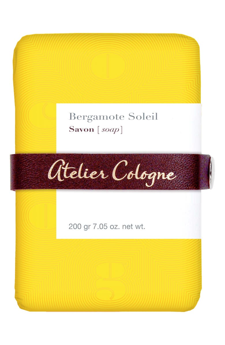 ATELIER COLOGNE Bergamote Soleil Soap, Main, color, NO COLOR