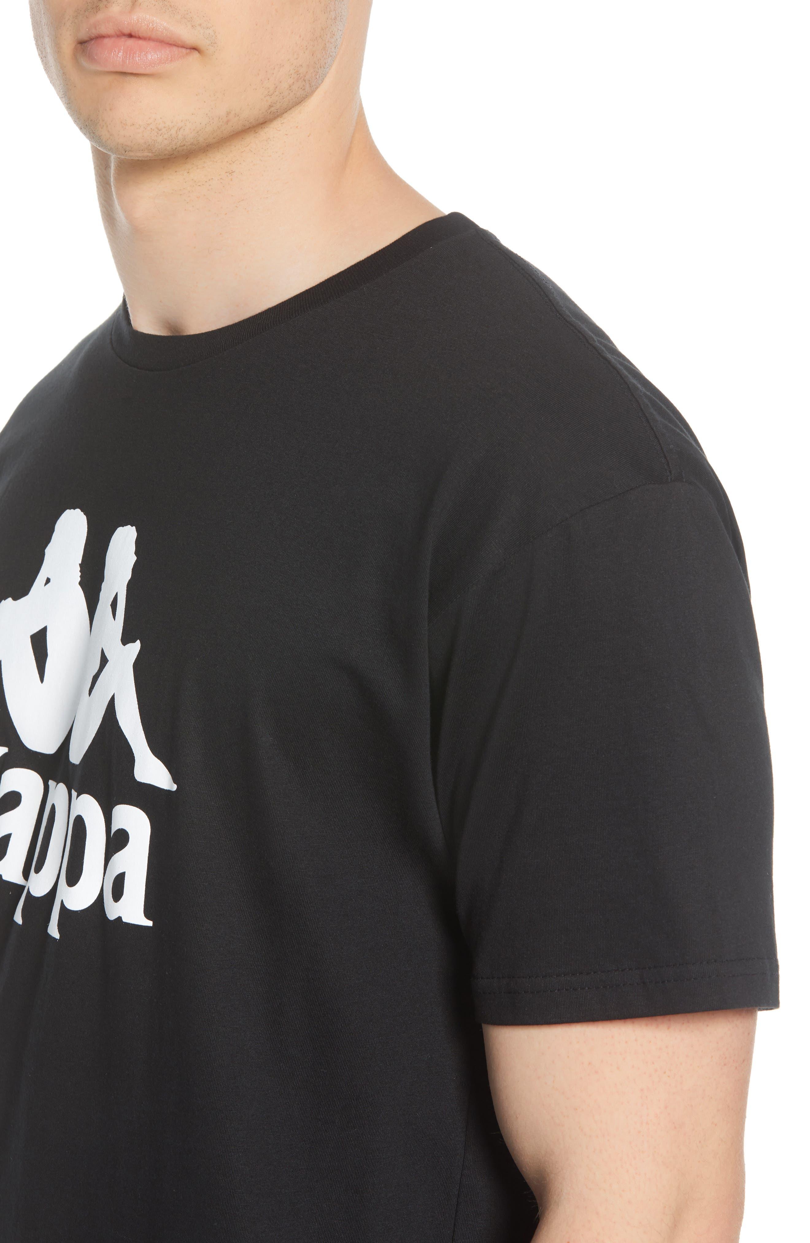 ,                             Authentic Estessi Logo T-Shirt,                             Alternate thumbnail 4, color,                             001