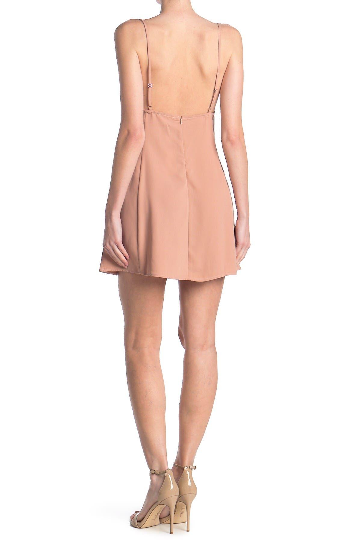 Re:named apparel Allie Ruche Slip Dress