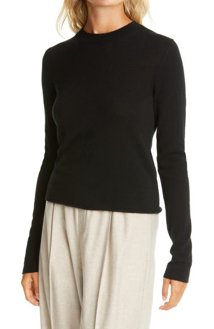 Image of Vince Slim Fit Long Sleeve Cashmere Sweater