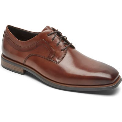 Rockport Dressports Business 2 Plain Toe Derby, Brown