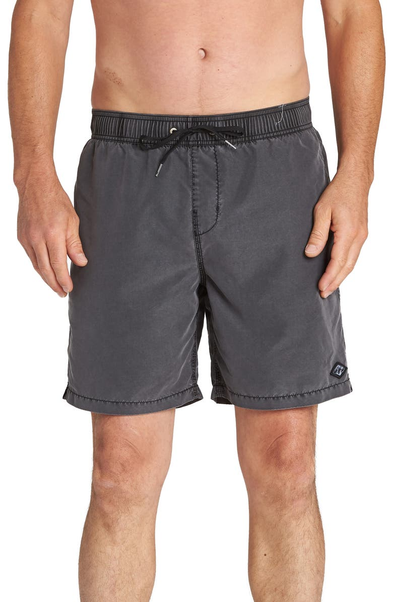 Billabong All Day Layback Solid Swim Trunks
