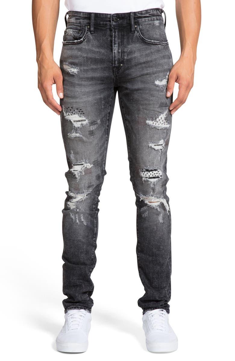 PRPS Windsor Ripped Extra Slim Fit Jeans, Main, color, BELVEDERE
