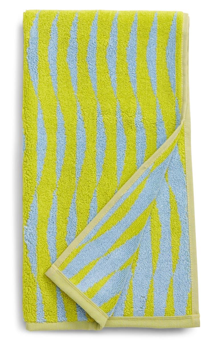 DUSEN DUSEN Ripple Reversible Jacquard Hand Towel, Main, color, 300
