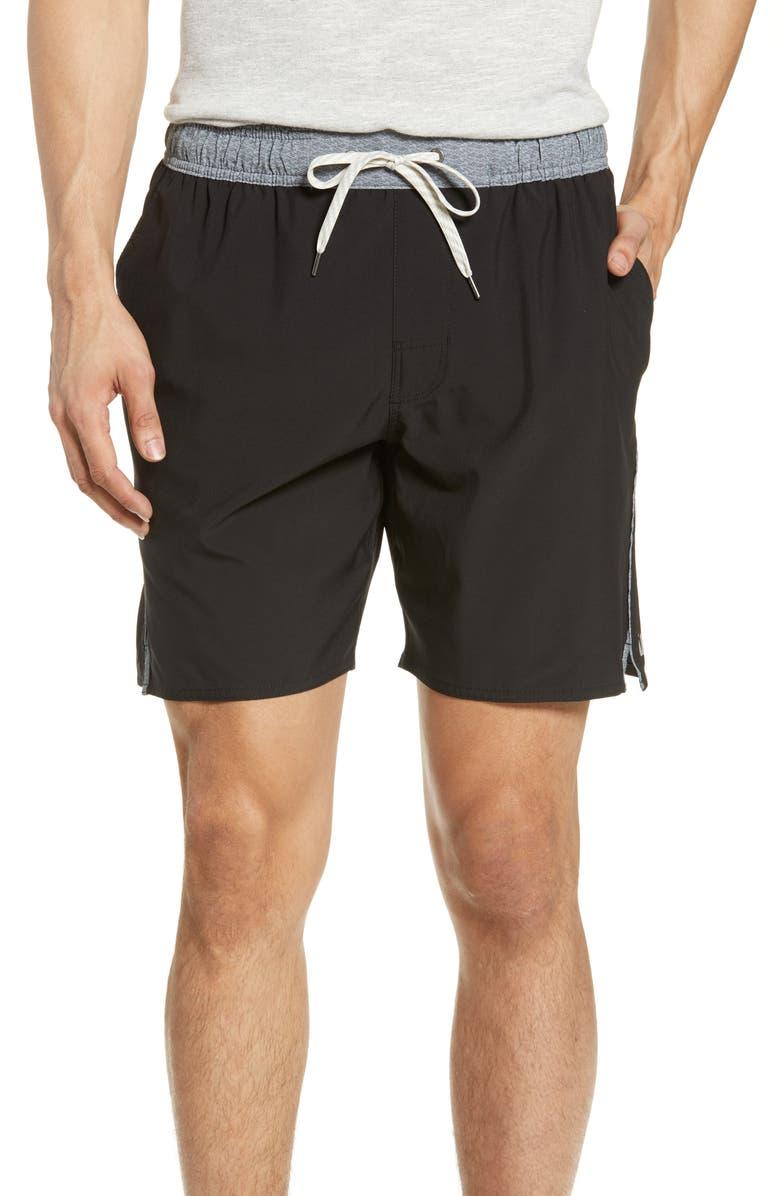 VUORI Trail Runner Shorts, Main, color, BLACK