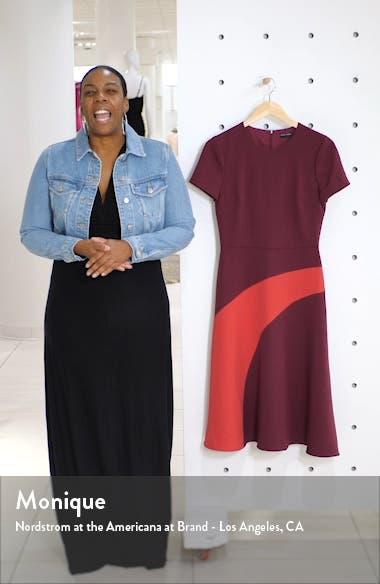 Colorblock A-Line Dress, sales video thumbnail