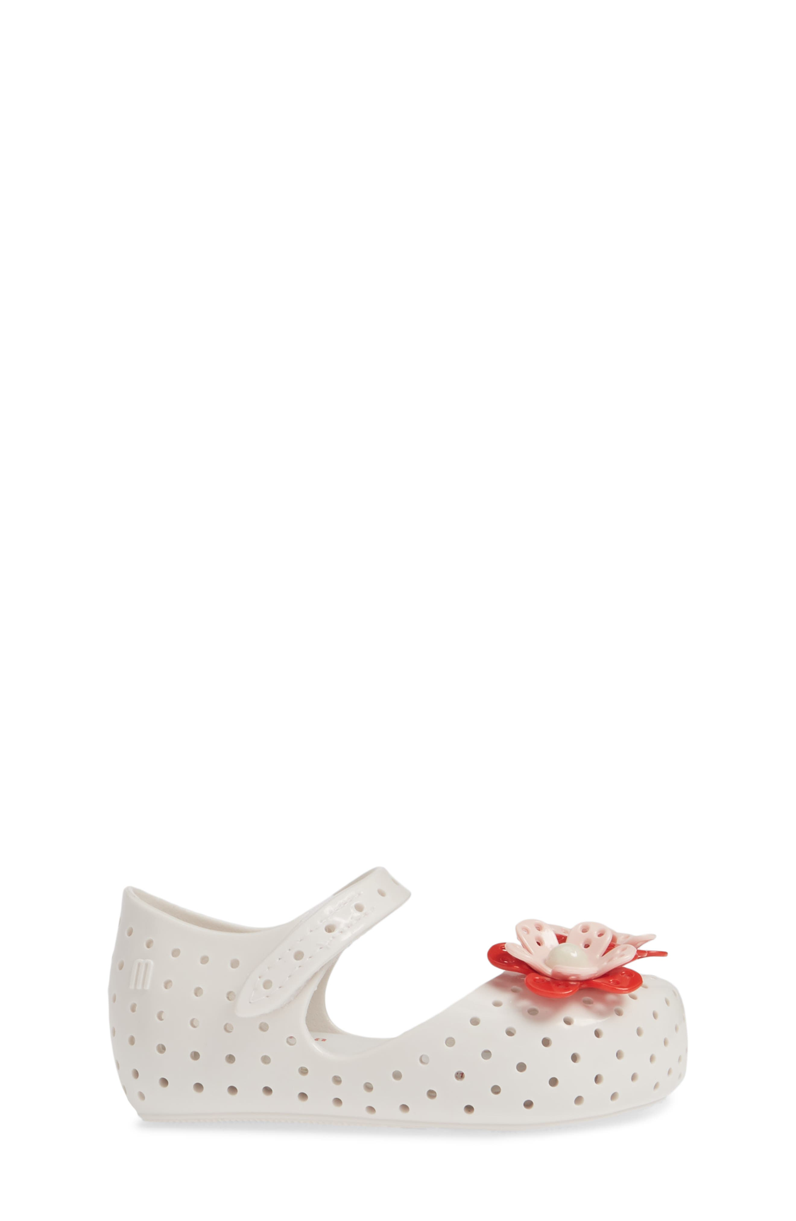 ,                             Furadinha XII Perforated Mary Jane,                             Alternate thumbnail 3, color,                             BRIGHT WHITE
