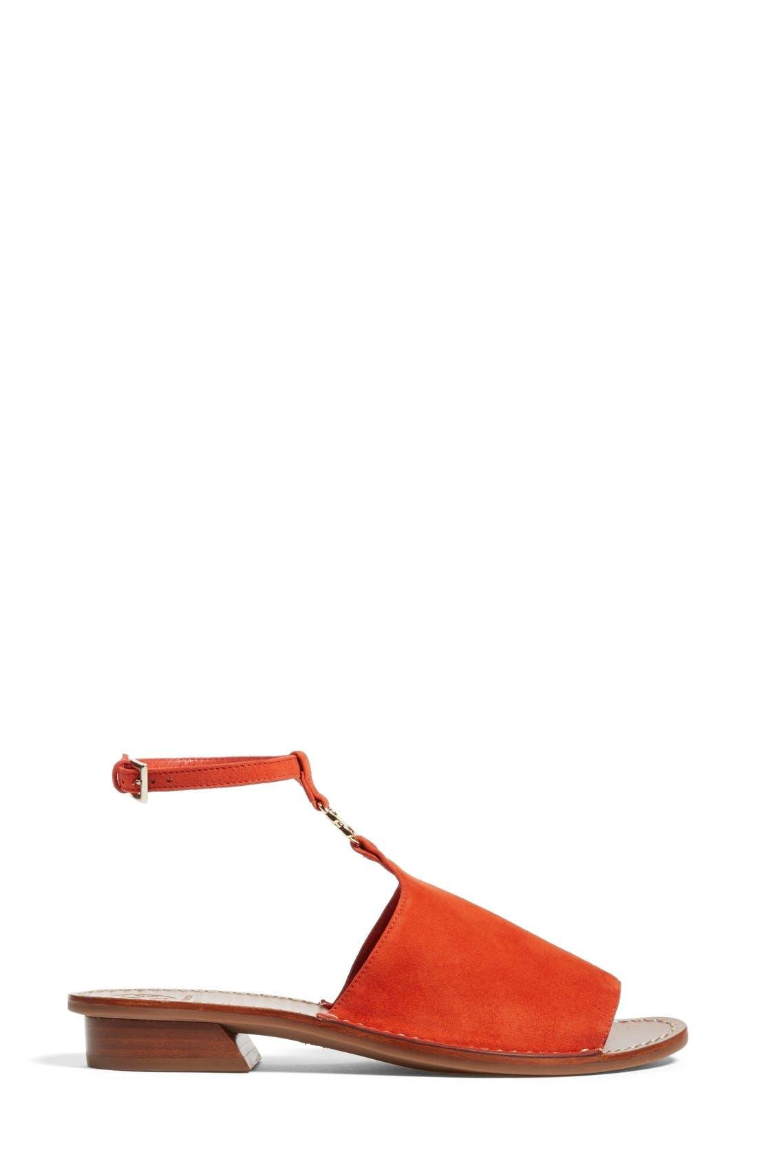 ,                             'Gemini Link' Ankle Strap Sandal,                             Alternate thumbnail 7, color,                             615