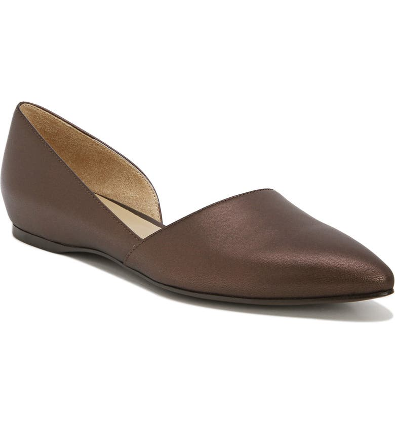 NATURALIZER Samantha 2 Flat, Main, color, MOCHA PEARL LEATHER