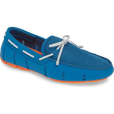 Swims Lace Loafer, Blue