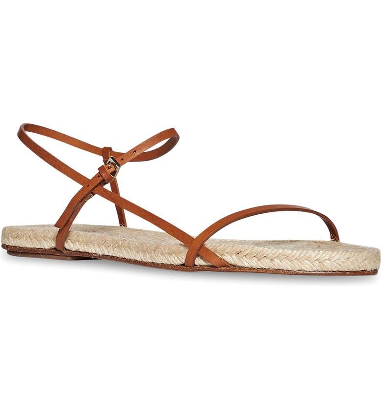 THE ROW Bare Espadrille Sandal, Main, color, AMBRA