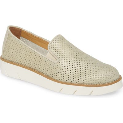The Flexx Daily Slip-On Sneaker- Metallic