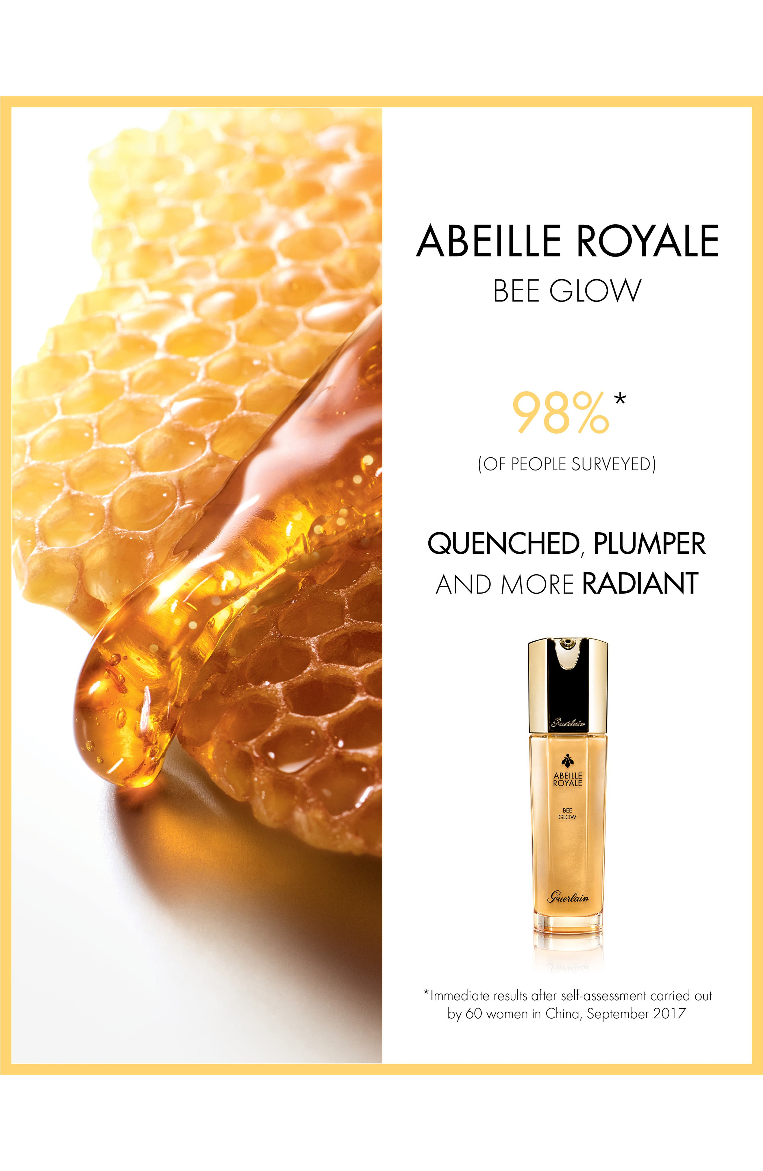 ,                             Abeille Royale Bee Glow Youth Moisturizer,                             Alternate thumbnail 4, color,                             NO COLOR