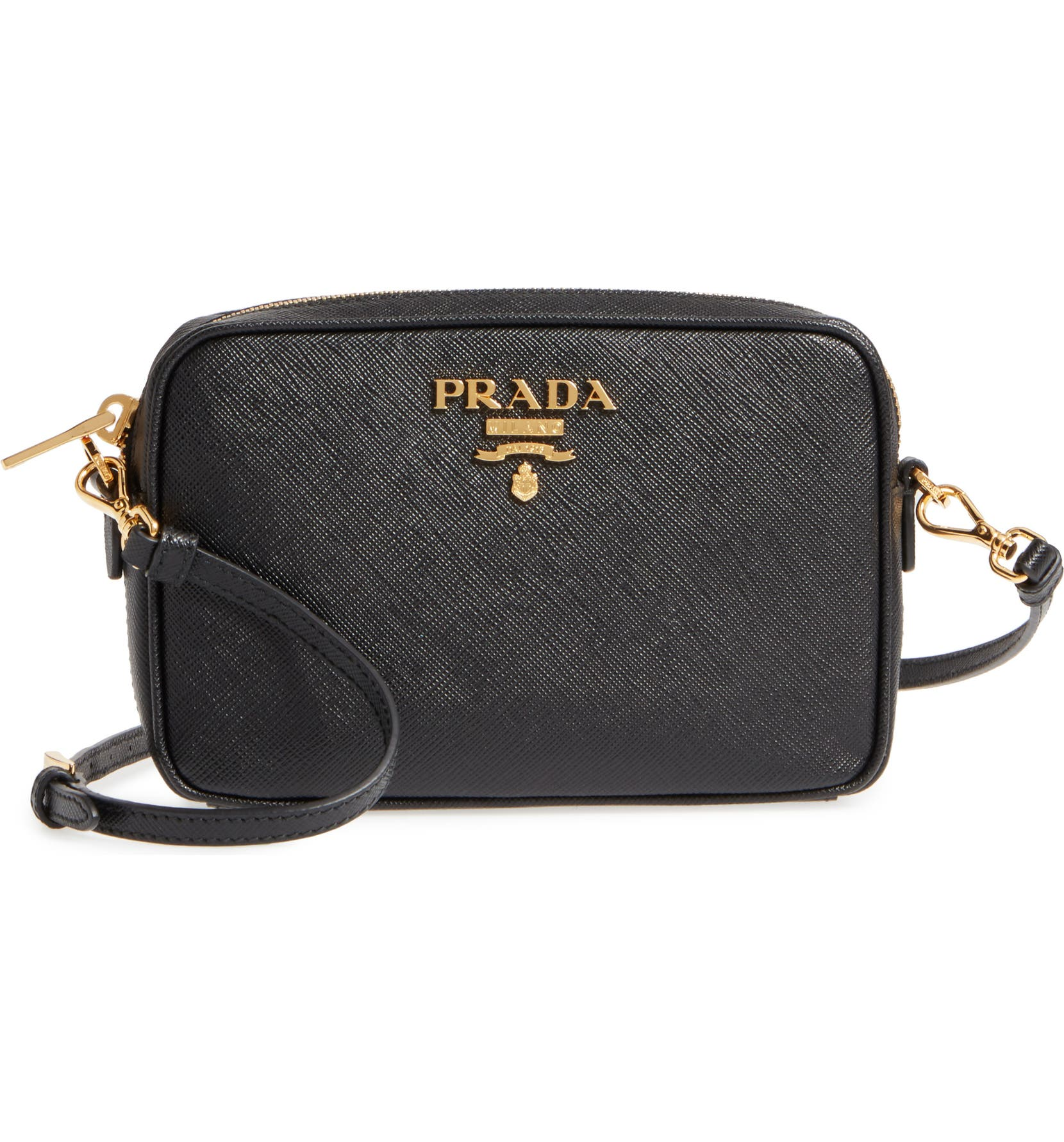 776a7f9d688 Prada Saffiano Leather Camera Bag | Nordstrom