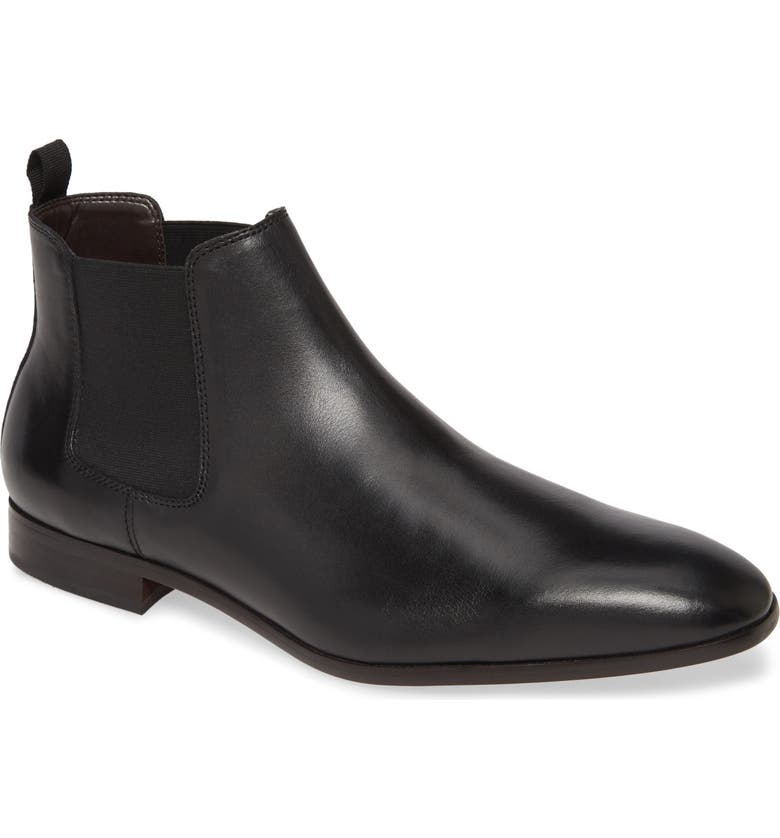 BP. Easton Chelsea Boot, Main, color, BLACK LEATHER