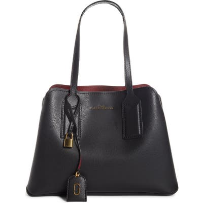 The Marc Jacobs The Editor Leather Tote - Black