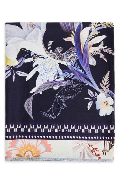 Ted Baker DALMATO FLORAL SCARF