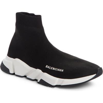 Balenciaga Speed High Slip-On, US / 47EU - Black