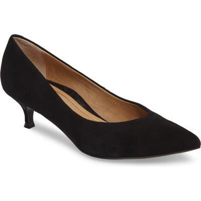 Vionic Josie Kitten Heel Pump, Black
