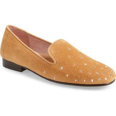 Patricia Green Celeste Star Studded Loafer, Brown