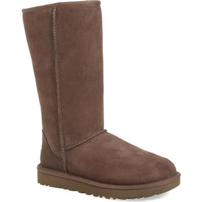 UGG Classic Ii Genuine Shearling Lined Tall Boot, Brown